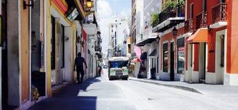 San Juan viejo Puerto Rico Fotografía de archivo libre de regalías