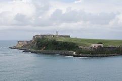 San Juan. View of San Juan in Puerto Rico royalty free stock images