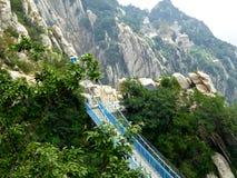 San Juan Village suspension bridge Royalty Free Stock Image