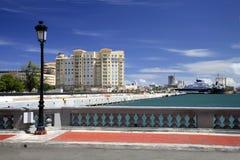 San Juan Waterfront royalty-vrije stock afbeelding