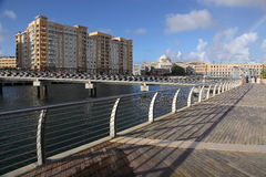 San Juan Waterfront Arkivbild
