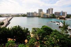 San Juan Waterfront Royalty Free Stock Photography