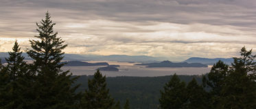 San- Juaninsel-Archipel in Washington lizenzfreie stockfotografie