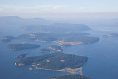 San- Juaninsel-Puget Sound Stockbild