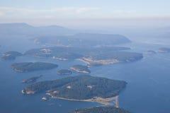 San- Juaninsel-Puget Sound Stockbild