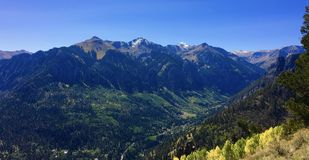 Ouray mountains colorado Stock Images