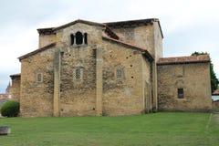 San Julián de los Prados, Oviedo ( Spain ). San Julián de los Prados, also known as Santullano, is a Pre-Ramirense church from the beginning of stock images