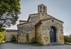 SAN Julian de Los Prados Church, Οβηέδο στοκ εικόνα
