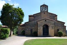 San Julian DE los Prados, Oviedo, Spanje Stock Foto's