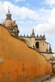 San Katedra Salvador, Jerez los angeles de Frontera Zdjęcia Stock