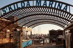 San Kilda Marina Fotografia Stock