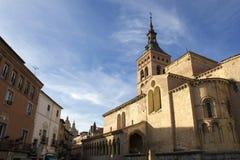 San Kościół Martin Segovia Obrazy Royalty Free