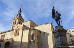 San Kościół Martin Segovia Obrazy Stock