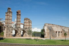 San Lazaro Aqueduct Arkivfoto