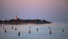 San Lazzaro degli Armeni Island, Venice Stock Image