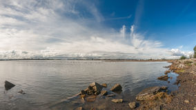 San Leandro Bay Royaltyfri Foto