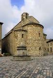 San-Leeuw, Italië - September 2014: de parochiekerk van St Mary Royalty-vrije Stock Foto's