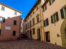 San Lejonet - gammal stad för arkitektur Royaltyfria Bilder