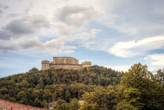 San Leo: the Castle. Color image royalty free stock photo