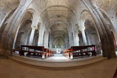 San Leo Cathedral interior Royalty Free Stock Photos