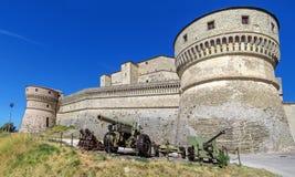 San Leo - Festung von San Leo Stockfotos
