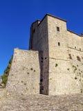 San Leo - Festung von San Leo Stockfotografie
