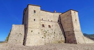 San Leo - fortaleza de San Leo imagen de archivo