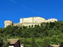 San Leo - fortaleza de San Leo Fotos de archivo