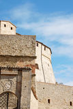 San Leo fortress main entrance Stock Images
