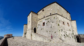 San Leo - Fortress of San Leo royalty free stock images