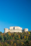 San Leo hystoric castle in Romagna countryside travel Italy Stock Photo