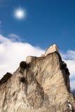 San leo s Schloss auf dem Berg Stockbild