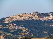 San Leo - widok San Marino Fotografia Royalty Free