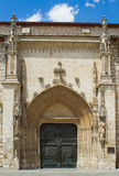 San Lesmes Abad Church, Burgos. Spain Stock Images