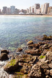 San Lorenzo´s beach, Gijón Royalty Free Stock Image
