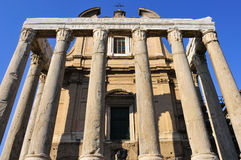 SAN Lorenzo στην εκκλησία της Miranda στη Ρώμη, Ιταλία Στοκ Εικόνα