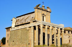 SAN Lorenzo στην εκκλησία της Miranda στη Ρώμη, Ιταλία Στοκ εικόνα με δικαίωμα ελεύθερης χρήσης