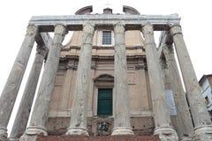 SAN Lorenzo στη Miranda στη Ρώμη, Ιταλία. Στοκ φωτογραφίες με δικαίωμα ελεύθερης χρήσης