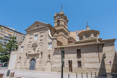 San Lorenzo Basilica at Huesca, Spain Royalty Free Stock Photography