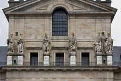 San Lorenzo Basilica statues Stock Photos
