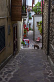 San lorenzo bellizzi, a little town in calabria near parco del pollino Royalty Free Stock Image