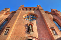 San Lorenzo Cathedral facade. Royalty Free Stock Image