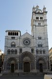 San Lorenzo, the Cathedral of Genoa Royalty Free Stock Photos