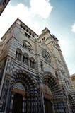 San Lorenzo Cathedral - Genoa Landmarks arkivfoton