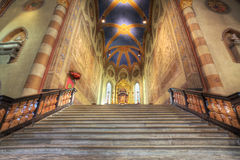 San Lorenzo cathedral interior. Royalty Free Stock Photo