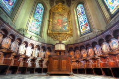 San Lorenzo cathedral interior. Stock Photography