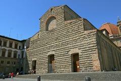 San Lorenzo Church in Florence, Italië Stock Foto's