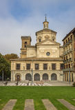 San Lorenzo church in the historical center of Pamplona. Spain Royalty Free Stock Image
