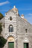 San Lorenzo Church - Portovenere Liguria Italy Royalty Free Stock Photo
