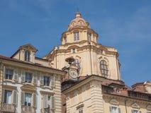 San Lorenzo church Turin Stock Images